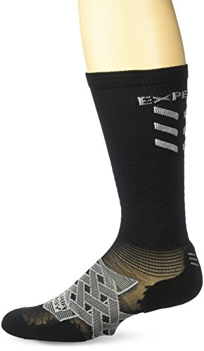 Thorlo Damen XEOU Socken - schwarz - X-Small 9 US
