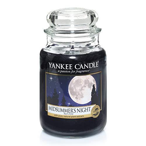Yankee Candle Glaskerze, groß, Midsummer Night -