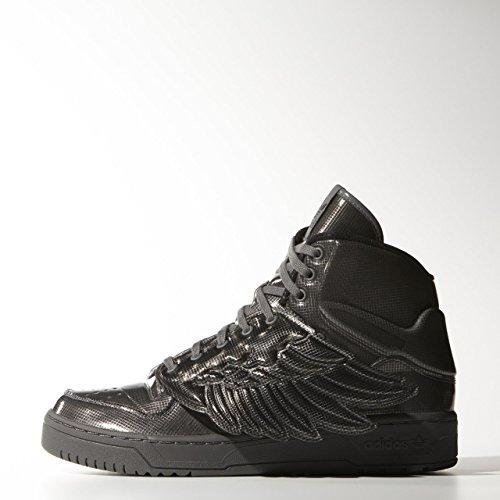 adidas  Js Wings Molded, Baskets pour femme - noir - noir, EU Noir/noir/noir