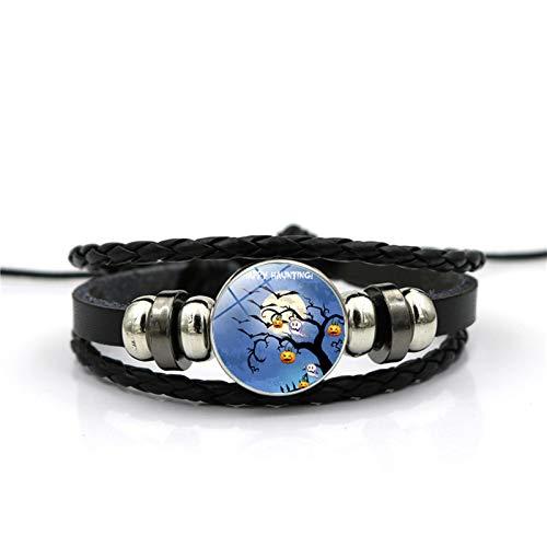 Schloss Zeit Edelstein Armband Mode Armband Hand Link Day Herren Damen Alltag ()