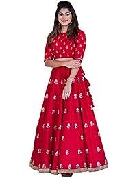 Ethnic Empire Designer Red Heavy Work In Banglori Silk Bridal Lehenga Choli
