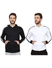 SayItLoud Men's Solid Sweatshirt Pack of 2
