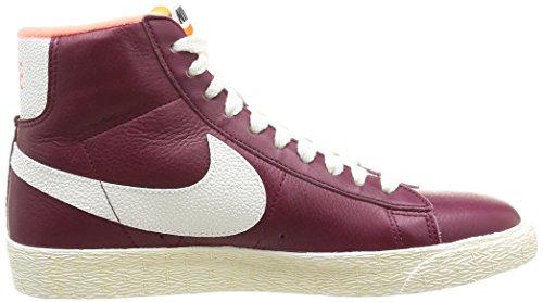 Nike Wmns Blazer Mid LTH VNTG Scarpe sportive, Donna Deep Garnet/Sail