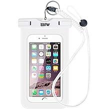 EOTW TPU Funda Impermeable IPX8 Universal para deportes acuaticos para Iphone 6/6s Plus,Samsung S6/Edge/S5/S4 hasta 6 pulgadas