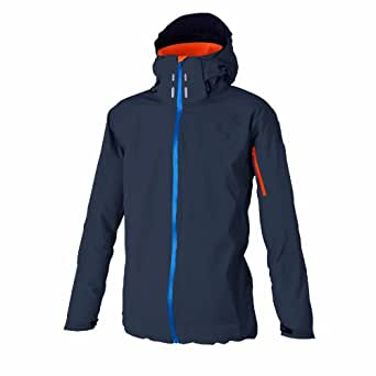 Dare2B Men Inventive Waterproof Breatable Zipped Pockets Hooded Jacket In Grey - Iron Grey 2XL