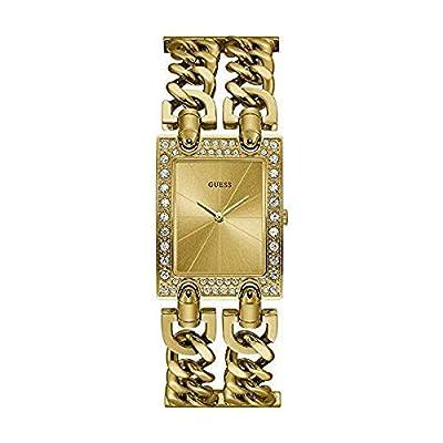 GUESS Reloj Analógico para Mujer de Cuarzo con Correa en Acero Inoxidable 8431242949406