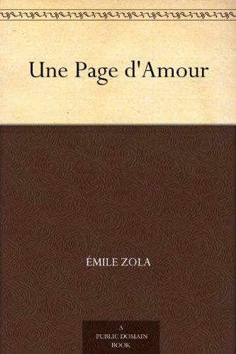 Couverture du livre Une Page d'Amour