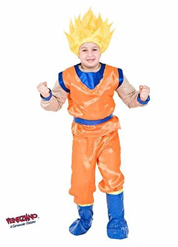 COSTUME di CARNEVALE da DRAGON vestito per ragazzo bambino 7-10