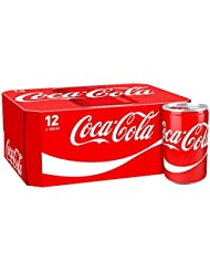 Coca-Cola Original Taste Cans, 12 x 150 ml