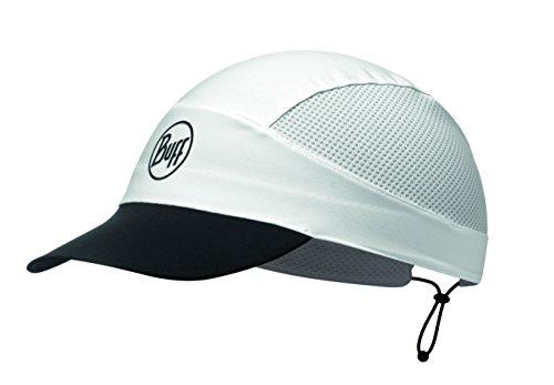 Buff Erwachsene Pack Run Cap, R Solid White, One Size