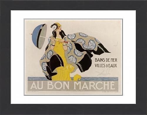 framed-print-of-advert-bon-marche-clothe