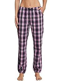 Schiesser Damen Schlafanzughose Webhose Lang