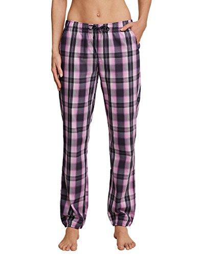 Schiesser Damen Schlafanzughose Webhose lang, Grau (Graphit 207), 38 (Herstellergröße 038)