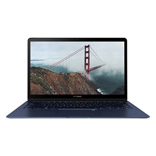 ASUS UX490UA-BE029T ZenBook Deluxe 3 14-inch Nano-Edge Display (Royal Blue) - (Intel Core i5-7200U, 8 GB RAM, 256 GB SSD, Windows 10, Harman Kardon Speakers)