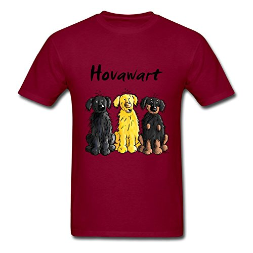 popular-hot-sales-hovawart-hovi-dog-design-burgundy-hommes-clothing-small