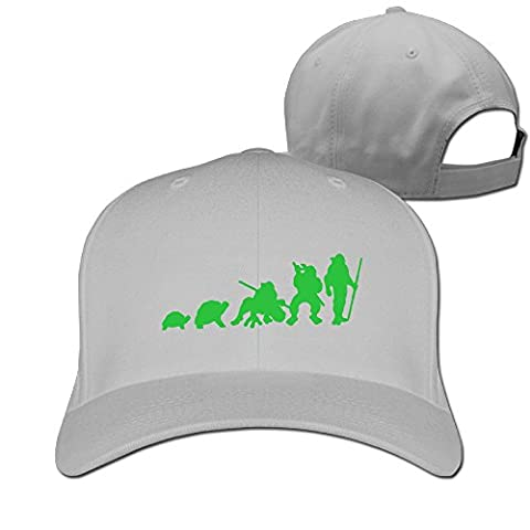 Fitty area Fashion Evolution Of Turtles Baseball Cap - Adjustable Hat - Black Ash