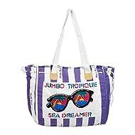 Summer - Portatrajes de viaje Purple & White Dimensions (cm): W 52 x H 35