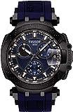 Tissot Herren-Armbanduhr Analog Quarz One Size, blau, blau