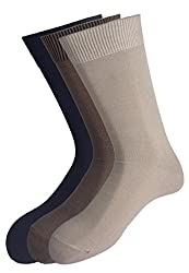 Peter England Mens Solid Socks (Pack Of 3)