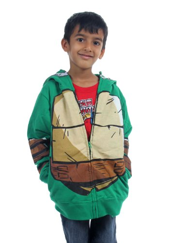 Teenage Mutant Ninja Turtles - Jungen-Kostüm Hoodie, X-Large (18-20), (Kapuzenpullover Ninja Für Teenage Mutant Jungen Turtles)