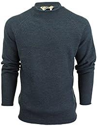 Pull maille couleur mélange de laine 'Brando' par Tokyo Laundry pour homme