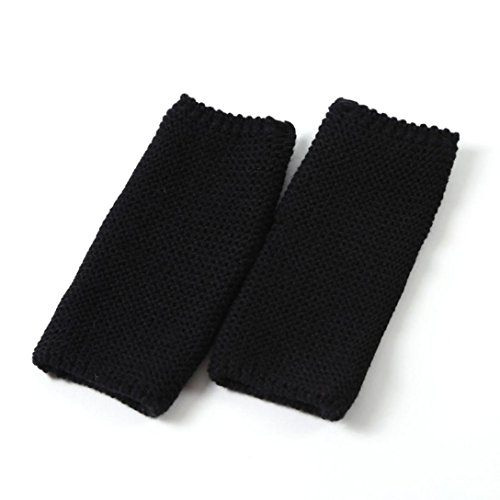Warmers Stiefelabdeckung Stricken Sport Yoga Socken (Schwarz) (Halloween Grabsteine Cartoon)