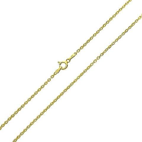 Bling Jewelry Oro Vermeil 040 Calibro rotondo link Rolo Catena