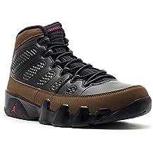 Nike - Zapatillas de baloncesto de piel para hombre Air Jordan 4 Retro Toro, Rojo (Rojo), 8 D(M) US