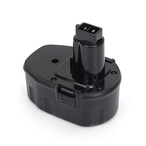 REEXBON 14,4 V 3000mAh Ni-Mh Batería de Reemplazo para Dewalt DE9094 DE9091...