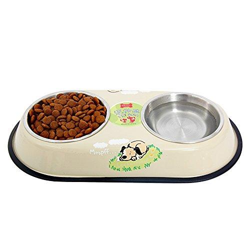 PAWZ Road, Doppel-Fressnapf für Hunde und Katzen – in zwei Größen erhältlich - 4