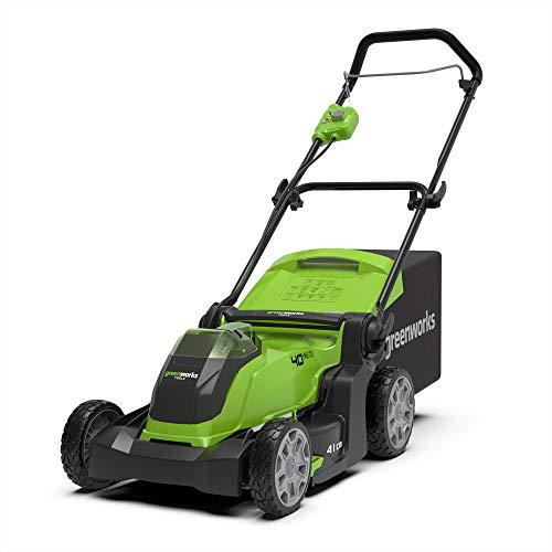 Greenworks Tools 642504707 Cortacésped Inalámbrico, 40 V, Verde