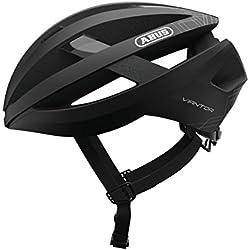 ABUS Viantor - Casco de bicicleta, Unisex , Negro, M (52-58 cm)