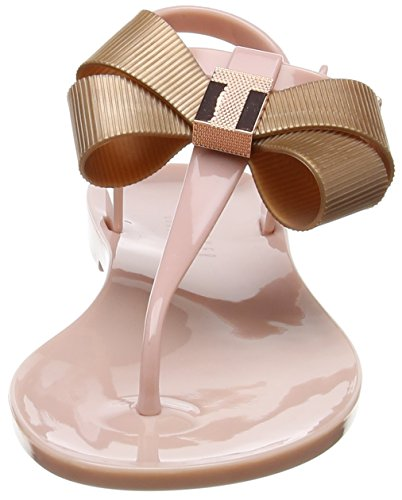 Ted Baker Camaril, Sandali con Chiusura a T Donna Rosa (Mink Pink)