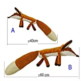 VintageⅢ Petit Prince Stofftier Plüsch Bildung Spielzeug Der Kleine Prinz Fox Plüsch Puppen Für Baby Kinder Geburtstagsgeschenk (60cm)