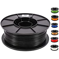 JANBEX PLA Filament 1,75 mm 1kg Rolle für 3D Drucker oder Stift in Vakuumverpackung