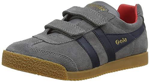 arrier Velcro Sneaker, Grau (ASH/Navy GE), 34 EU ()