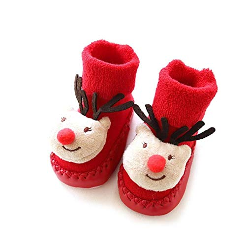 VlugTXcJ Calcetines Bebé 1Pair De Navidad Niños