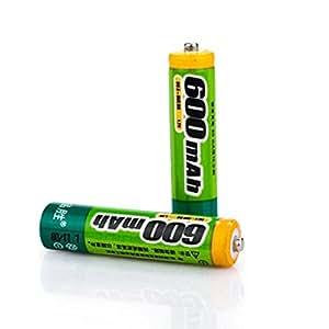 Pisen 600mAh 1.2V AAA 1000 Cycles NI-MH Rechargeable Batteries 2PCS