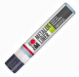 Marabu - Forro metálico, Metallic Light Blue, 2.2 x 12.6 x 2.2 cm