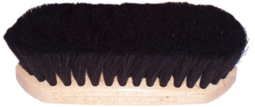 Intrepid International tailwrap Wood Block Horse Hair Brush, 6 1/4 (Elite Hair Brush)