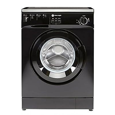 White Knight wm105vb Freestanding Front-Load 5kg 1000RPM A + Black–Washing Machine (Freestanding, Front Loading, Black, Left, 5kg, 1000RPM)