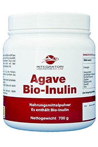 AGAVE BIO-INULIN - Nahrungsmittelpulver Es enthält Agave Inulin aus biologischem Anbau - 700 g