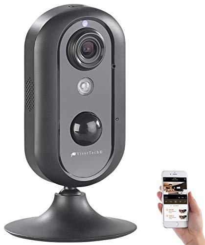 VisorTech LTE Kamera: IP-HD-Überwachungskamera mit LTE 4G, GSM, 3G & WLAN, Nachtsicht, PIR (4G Kamera)