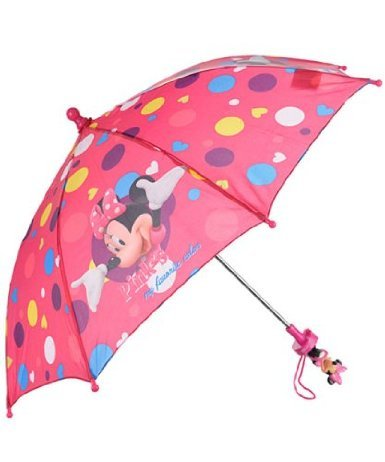 DISNEY MINNIE MOUSE ROSA DE MI COLOR FAVORITO KID PARAGUAS
