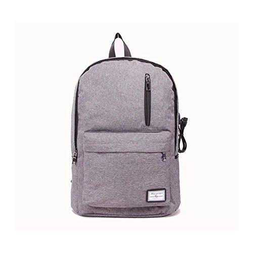 16 Hafen-faser (Backpack Laptop-Rucksack 17 Zoll mit USBAufladen Hafen , Dark Gray)