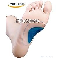 High Arch Support Einlegesohlen, pedimendtm–flach Fuß–Orthopädische Schuh Einlagen (4pair)–Plantarfasziitis... preisvergleich bei billige-tabletten.eu