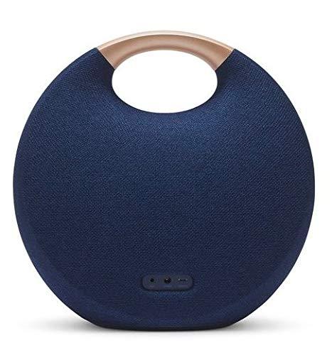 Harman Kardon Onyx Studio 5 Bluetooth Wireless Speaker (Onyx5) (Blue) Standard/Upgrade/Home/Personal/Professional etc 1 Device/2 Devices etc  PC/Mac/Android etc Disc Disc