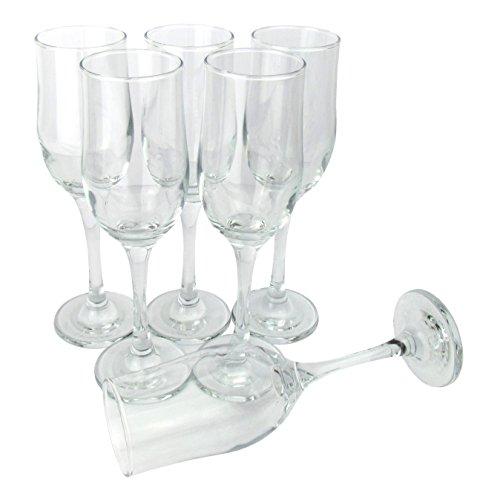 LAV - Sektgläser / 6-teiliges Gläser Set - 190 ml