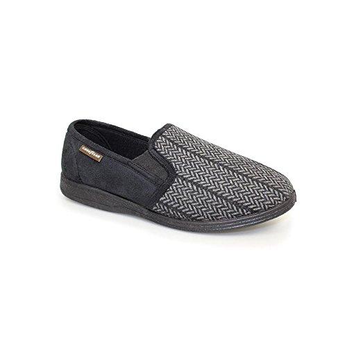 goodyear-tweed-slipper-43-black