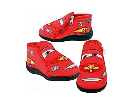 Disney Kinder Hausschuhe Schuhe Pantoffeln Cars. Gr. 23,24,25